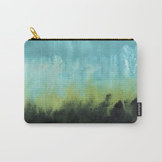 Watercolor abstract landscape 15 Carry-All Pouch