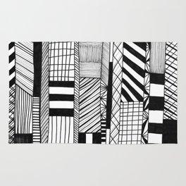 Mono Geo Lines Rug