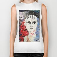les mis Biker Tanks featuring LES MISERABLES by JANUARY FROST