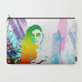 Colorful girl Carry-All Pouch