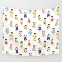 lots of babies! Wall Tapestry