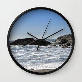 Cornishseascapes Gunwalloe 01 Wall Clock