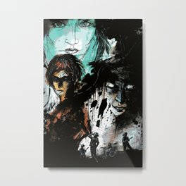 We Never Are What We Intend Metal Print