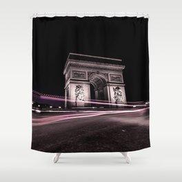Arc de triomphe Paris France Shower Curtain