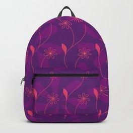 Flowerline – violet Backpack
