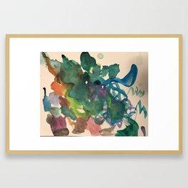 Topiary Framed Art Print