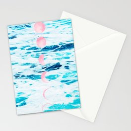 Beach Baby, Moon Baby Stationery Cards