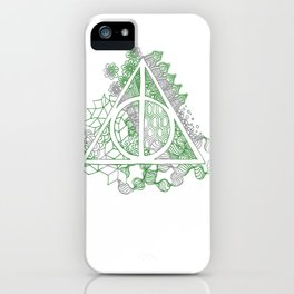 Death Hallow Snake iPhone Case