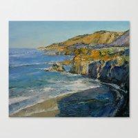 big sur Canvas Prints featuring Big Sur by Michael Creese