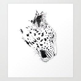 The Amur leopard Art Print