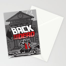 BACK to the DEAD Stationery Cards