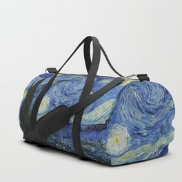 Starry Night by Vincent van Gogh Duffle Bag