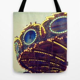 Blue Hour at the Carnival II Tote Bag