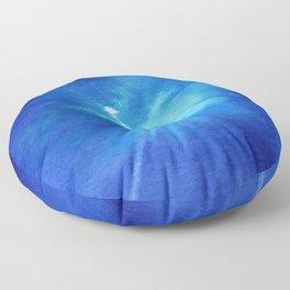 Blue Powder Floor Pillow