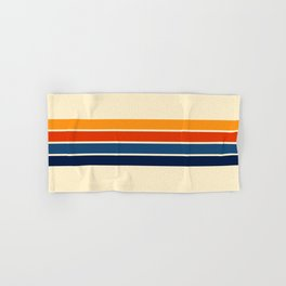 Classic Retro Stripes Hand & Bath Towel