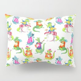 Dragon Band Pillow Sham