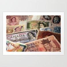 Money Art Print