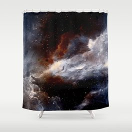 Dust, hydrogen, helium and other ionized gases Shower Curtain