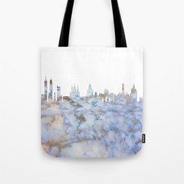 Madrid Skyline Spain Tote Bag