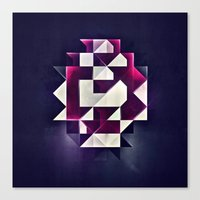 rwby Canvas Prints featuring rwby pyndynt by Spires