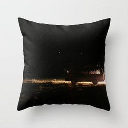 WE WENT TO THE SPACE Throw Pillow