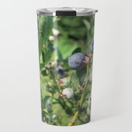 Blueberry Plant Travel Mug