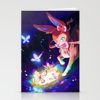 sylveon Stationery Cards featuring Sylveon by Katie O'Meara