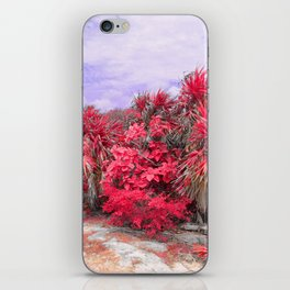 Infrared Palms iPhone Skin