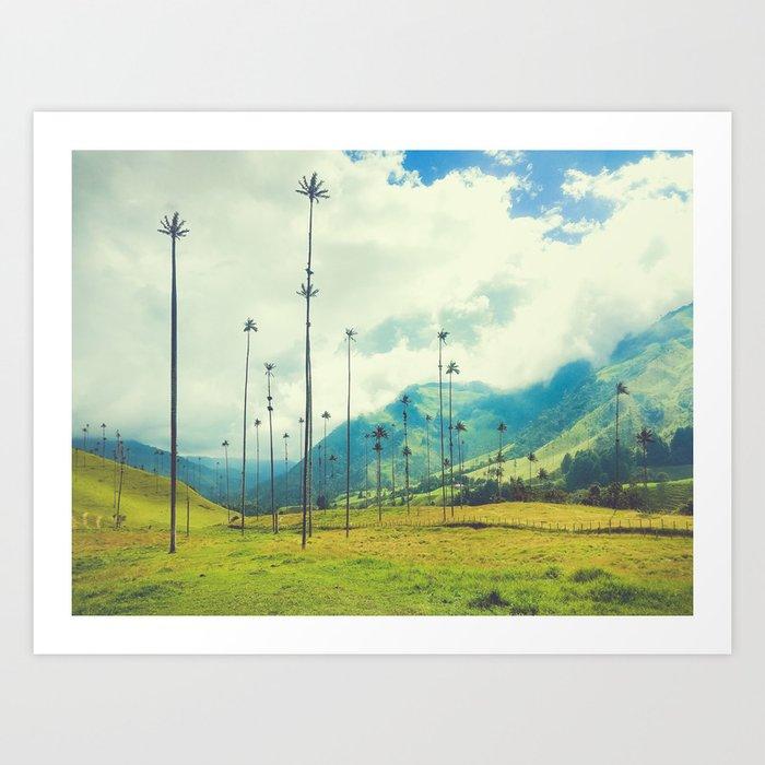 Wax Palms of Salento, Colombia Fine Art Print Art Print
