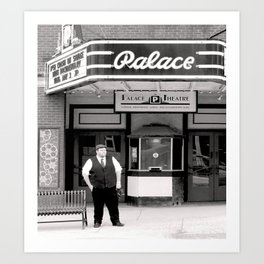 Photographer of the Past at the Palace Art Print