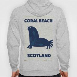 Coral Beach Scotland Hoody