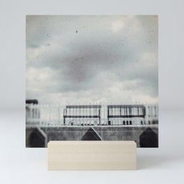 Meeting at the Station Mini Art Print