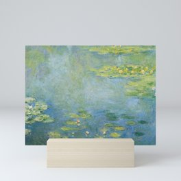 Water lilies by Claude Monet, 1906 Mini Art Print