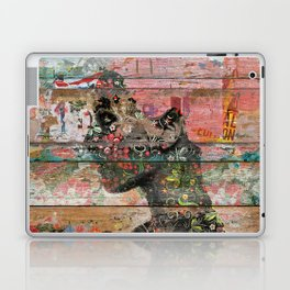 Inner Nature (Profile of Woman) Laptop & iPad Skin