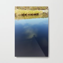 Reflections on lake Metal Print