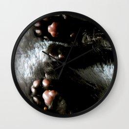 Toe Beans Wall Clock