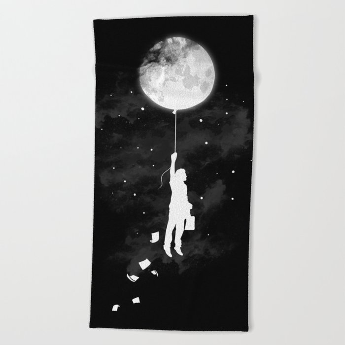 Midnight Traveler Beach Towel