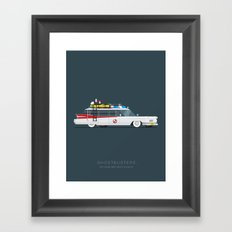 Ghostbusters  | Famous Cars Framed Art Print