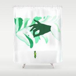pendulum Shower Curtain