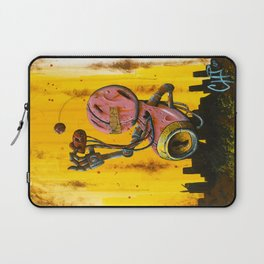A pink robot for Akira Laptop Sleeve