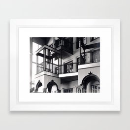 SAAI RIP- Atrium Framed Art Print