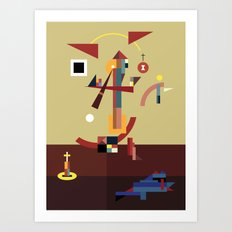 taxiarch Art Print
