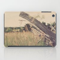battlefield iPad Cases featuring Battlefield Fence by Sam Wesselhoft