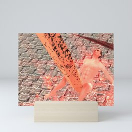 SquaRed: Hobnailed for Sickle Mini Art Print