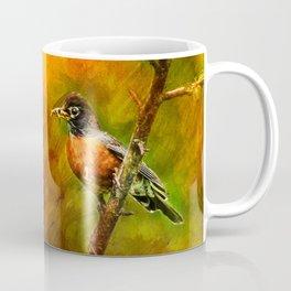 Feeding Time ~ Mama Robin ~ Ginkelmier Inspired Coffee Mug