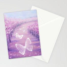 Butterflies' Field Trip Stationery Cards