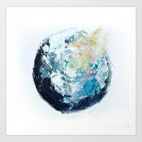 One planet Art Print