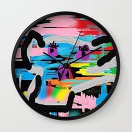 Face of cow Wall Clock
