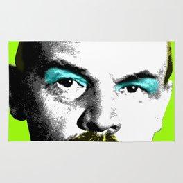 Ooh Mr Lenin - Lime Rug