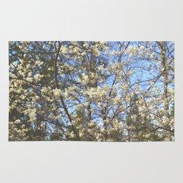 Juneberry Blossoms Rug